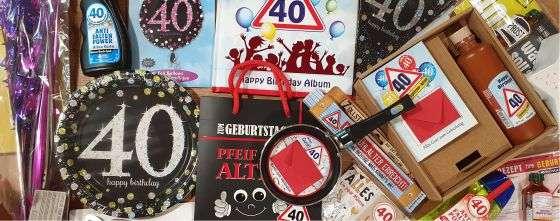 40 geschenk zum Geschenke zum