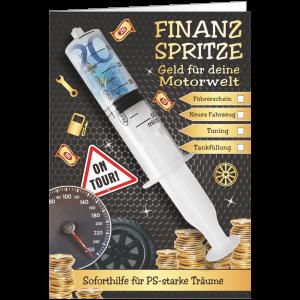Geschenkkarte-Finanzspritze-Glueckwunschkarte-Geldgeschenk-fuer-deine-Motorwelt-AV-Andrea-Verlag-andrea-geschenke.de