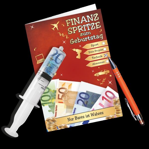 Geschenkkarte-Finanzspritze-Glueckwunschkarte-Geldgeschenk-zum-Geburtstag-Set-AV-Andrea-Verlag-andrea-geschenke.de