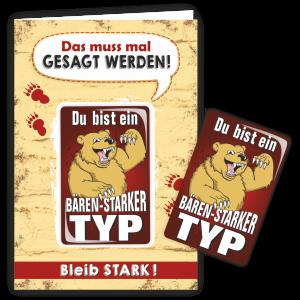 Geschenkkarte-Magnet-Glueckwunschkarte-Magnetkarte-Baerenstarker-Typ-AV-Andrea-Verlag-andrea-geschenke.de