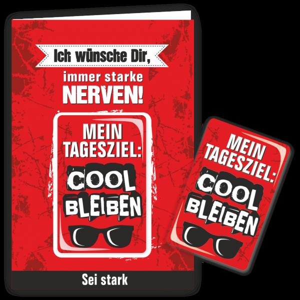 Geschenkkarte-Magnet-Glueckwunschkarte-Magnetkarte-Cool-bleiben-AV-Andrea-Verlag-andrea-geschenke.de
