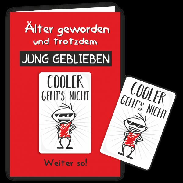 Geschenkkarte-Magnet-Glueckwunschkarte-Magnetkarte-Jung-geblieben-AV-Andrea-Verlag-andrea-geschenke.de