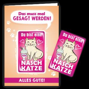 Geschenkkarte-Magnet-Glueckwunschkarte-Magnetkarte-Naschkatze-AV-Andrea-Verlag-andrea-geschenke.de