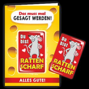 Geschenkkarte-Magnet-Glueckwunschkarte-Magnetkarte-Rattenscharf-AV-Andrea-Verlag-andrea-geschenke.de