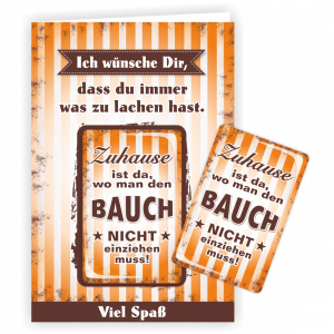 Geschenkkarte-Magnet-Glueckwunschkarte-Magnetkarte-Zu-Hause-AV-Andrea-Verlag-andrea-geschenke.de