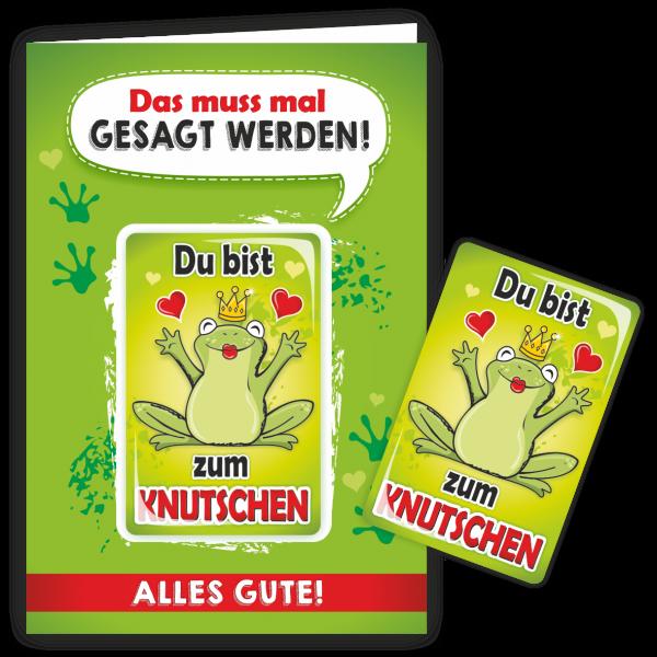 Geschenkkarte-Magnet-Glueckwunschkarte-Magnetkarte-Zum-Knutschen-AV-Andrea-Verlag-andrea-geschenke.de