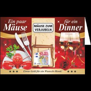 Geschenkkarte-Mausefalle-Glueckwunschkarte-Geldgeschenk-Dinner-AV-Andrea-Verlag-andrea-geschenke.de