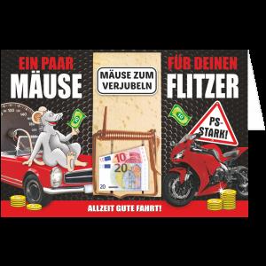 Geschenkkarte-Mausefalle-Glueckwunschkarte-Geldgeschenk-Flitzer-AV-Andrea-Verlag-andrea-geschenke.de