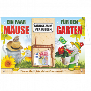 Geschenkkarte-Mausefalle-Glueckwunschkarte-Geldgeschenk-Garten-AV-Andrea-Verlag-andrea-geschenke.de