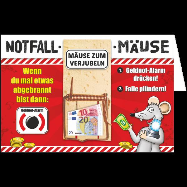 Geschenkkarte-Mausefalle-Glueckwunschkarte-Geldgeschenk-Notfall-AV-Andrea-Verlag-andrea-geschenke.de