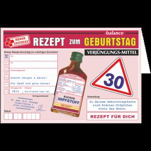 Geschenkkarte-Rezept-Glueckwunschkarte-Kraeuterlikoer-dreissig-AV-Andrea-Verlag-andrea-geschenke.de