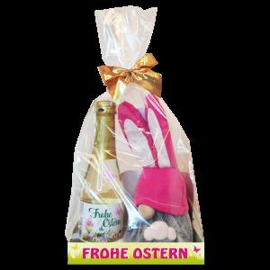 Geschenkset-Piccolo-mit-Osterwicht-Guido-Fellwicht-mit-Hasenmuetze-und-Holznase-fertige-Geschekidee-zu-Ostern-AV-Andrea-Verlag-andrea-verlag.de