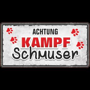 Kampfschmuser Metallschild 33532 AV Andrea Verlag andrea-geschenke.de!