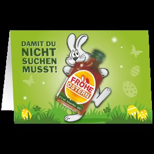Oster-Karte-mit-Kraeuter-Likoer-Damit-du-nicht-suchen-musst-Geschenkidee-zu-Ostern-unverpackt-AV-Andrea-Verlag-andrea-geschenke.de