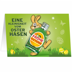 Oster-Karte-mit-Pfefferminz-Likoer-Eine-Kleinigkeit-vom-Osterhasen-Geschenkidee-zu-Ostern-unverpackt-AV-Andrea-Verlag-andrea-geschenke.de
