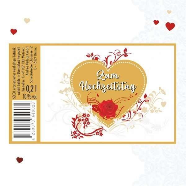 Piccolo-Zum-Hochzeitstag-Sekt-22-Karat-Blattgold-Goldflocken-Gold-02-l-10-vol.-mit-Hochglanzetikett-2-das-prickelnde-Lifestyle-Getraenk-AV-Andrea-Verlag-andrea-geschenke.de