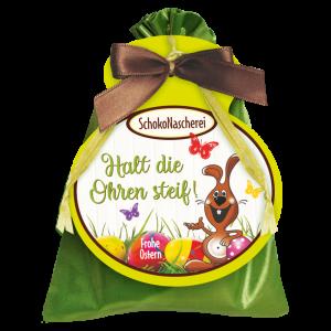 Schoko-Satinsaeckchen-Halt-die-Ohren-steif-Frohe-Ostern-mit-Schokolade-Schokoladengeschenk-zum-Osterfest-AV-Andrea-Verlag-andrea-geschenke.de