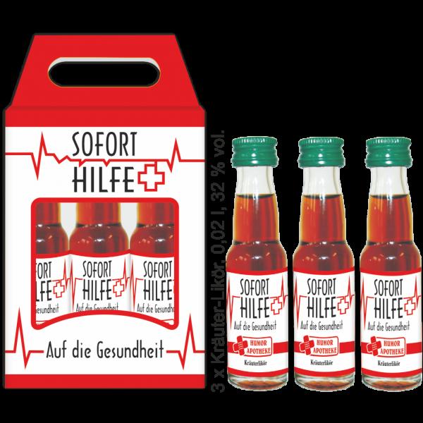 Soforthilfe-Box-Kraeuterlikoer-Humorapotheke-Humor-Alles-Gute-Auf-die-Gesundheit-Gesundheit-Maennergeschenk-Likoer-Geschenk-andrea-geschenke.de