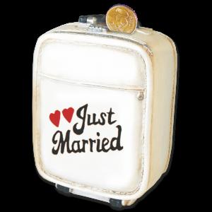 Spardose-Koffer-Just-Married-Hochzeit-Urlaub-Reise-AV-Andrea-Verlag-andrea-geschenke.de