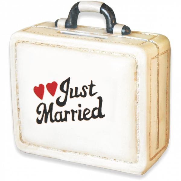 Spardose-Koffer-Tasche-Just-Married-Hochzeit-Urlaub-Reise-AV-Andrea-Verlag-andrea-geschenke.de