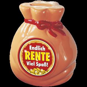 Spardose-Sparschwein-Endlich-Rente-Geld-Sack-andrea-geschenke.de-AV-Andrea-Verlag