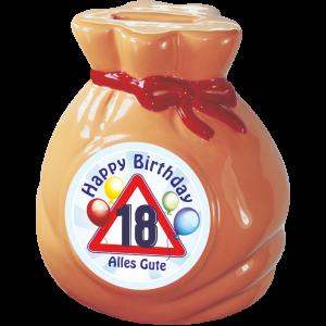 Spardose-Sparschwein-zum-18.-Geburtstag-Geld-Sack-Happy-Birthday-andrea-geschenke.de-AV-Andrea-Verlag