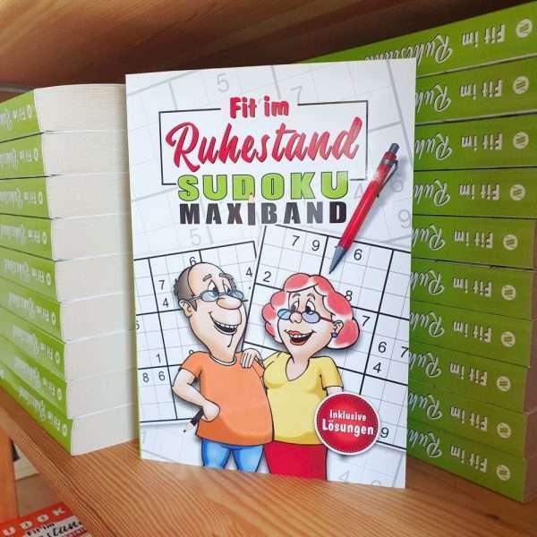 Sudoku-Maxiband-Ratebuch-Raetselbuch-Rentner-Zahlenraetsel-Senioren-andrea-geschenkde.de